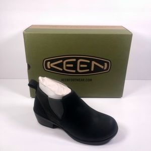 KEEN Morrison Chelsea Leather Ankle Boots Bootie